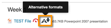 Astra logo beside powerpoint resource with download button highlighted