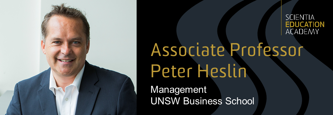 Peter Heslin Banner