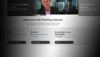 New look for Teaching Gateway