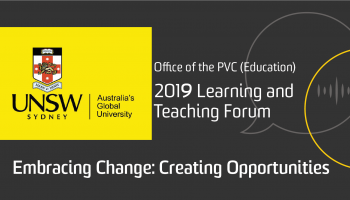 2019 Learning and Teaching Forum