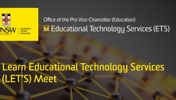 Learn Educational Technology Services (LET'S) Meet