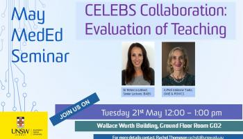 MedEd Meeting - CELEBS Collaboration: Evaluation of Teaching