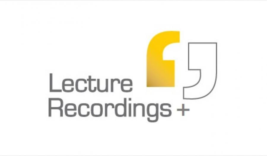 Lecture Recording +
