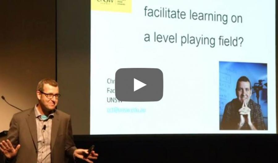 Can technology facilitate learning on a level playing field?