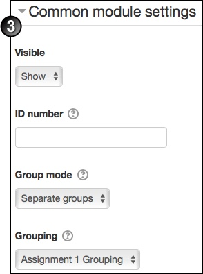 Create a group in Moodle, and assign an activity to it