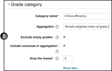 Gradebook customise 4