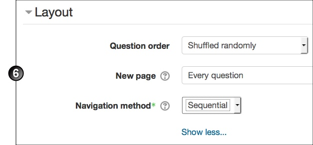 Create And Manage A Quiz In Moodle UNSW Teaching Staff Gateway