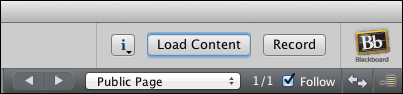 Load Content Button
