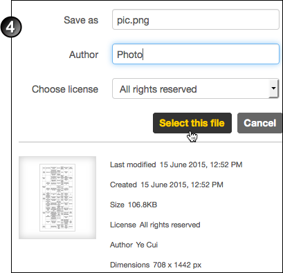 insert image into preview pdf
