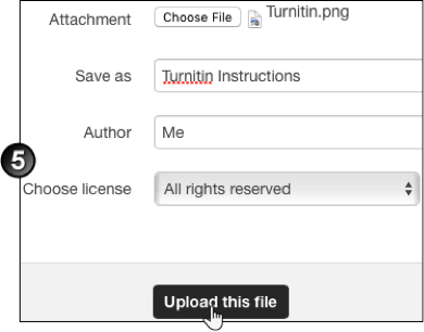 Upload a File to Moodle | UNSW Teaching Staff Gateway